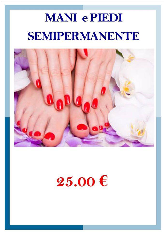 mani e piedi semipermanente