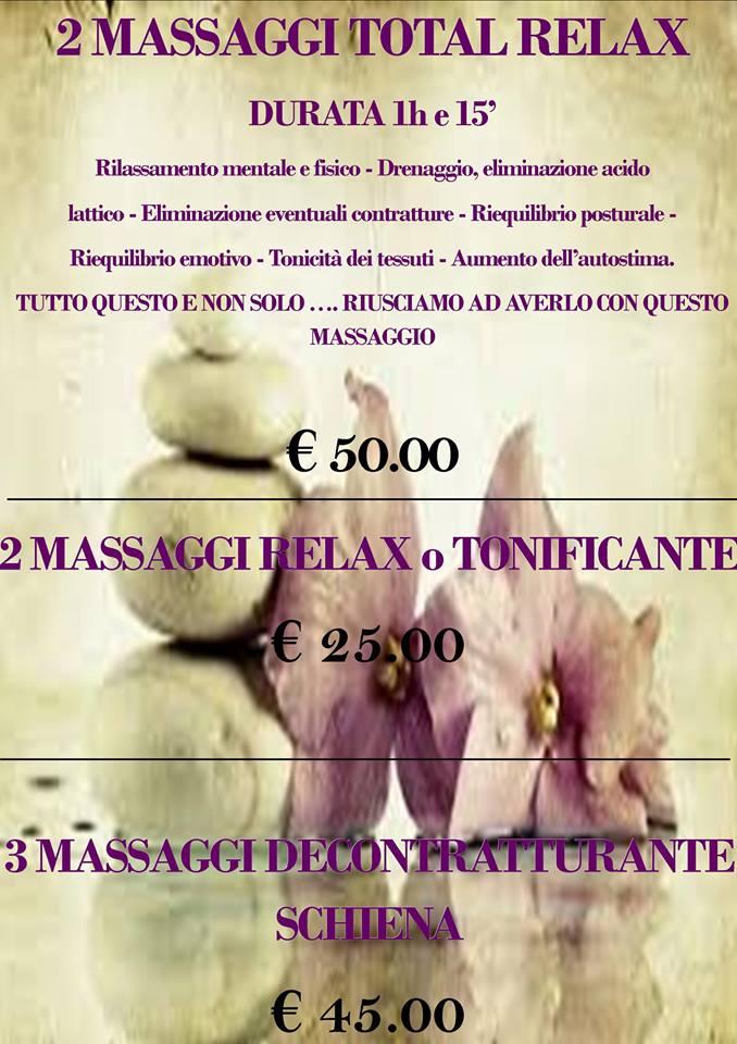 massaggio centro benessere siracusa