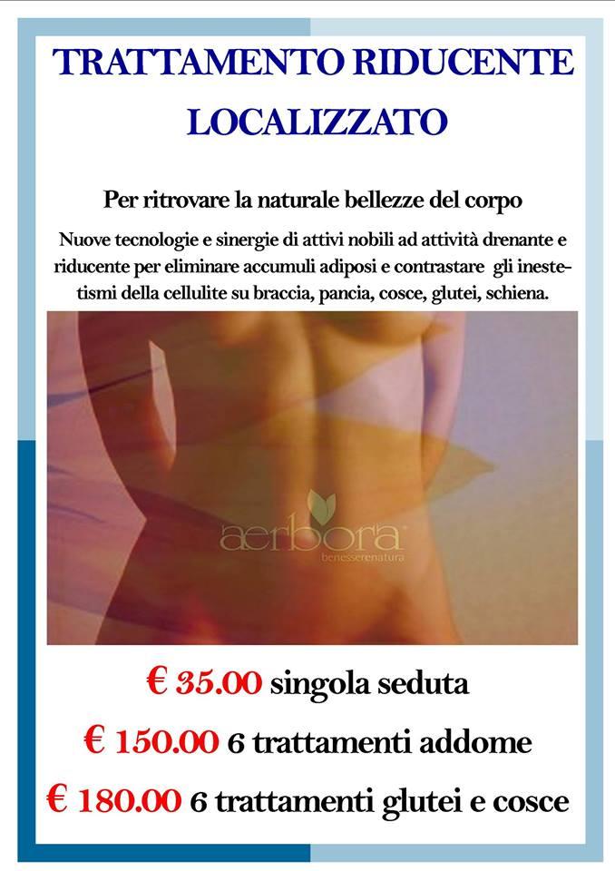 trattamento riduzione massa grassa localizzata